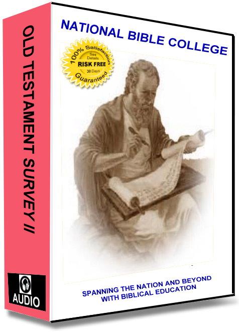 Old Testament Survey II Audio Course