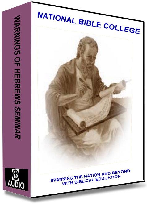 Hebrews Audio Seminar